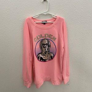 Pink C3PO Sweater